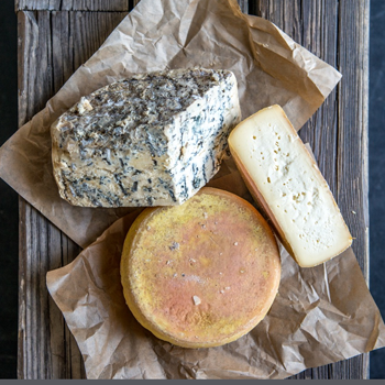 Cheeses from Lucyna and Sylwester Wańczyk