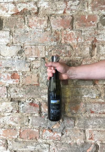 Wino Winnice Wzgórz Trzebnickich Riesling Pét Nat 2014