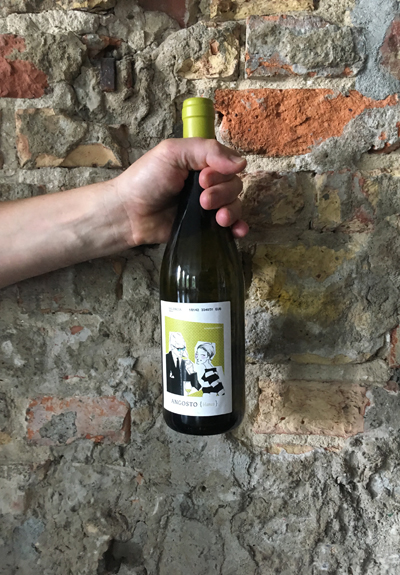 Wino Bodega Angosto Blanco 2018