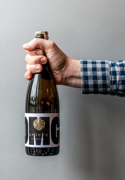 Wino Weingut Meierer Riesling OMG! Pét Nat 2016