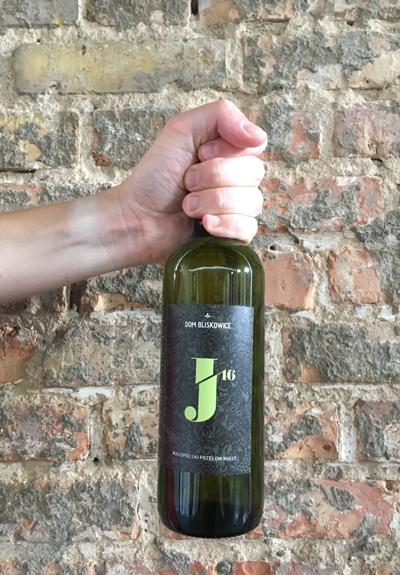 Wino Dom Bliskowice J' 2016