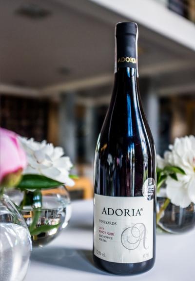 Wino Winnica Adoria Pinot Noir 2015