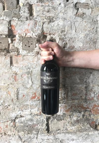 Wino Botromagno Primitivo Rosso 2017