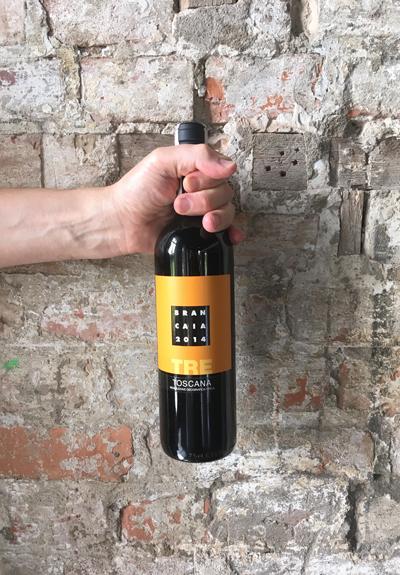 Wino Brancaia Tre 2014