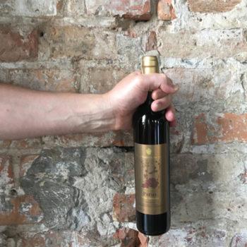 Wino Winnica de Sas Parus 2016