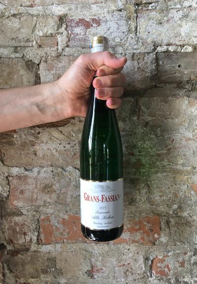 Wino Grans Fassian Alte Reben Riesling 2015