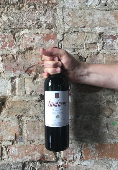Wino Bodegas Lambuena Crianza 2014