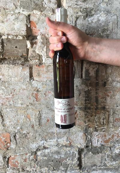 Wino Winnica Miłosz Blanc de Noir 2015