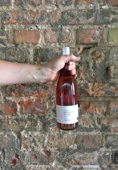 Wino Château Mourgues du Grès Galets Rosés 2016