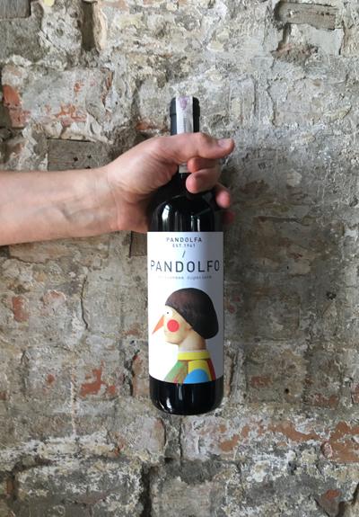 Wino Pandolfa Sangiovese Superiore Pandolfo 2016