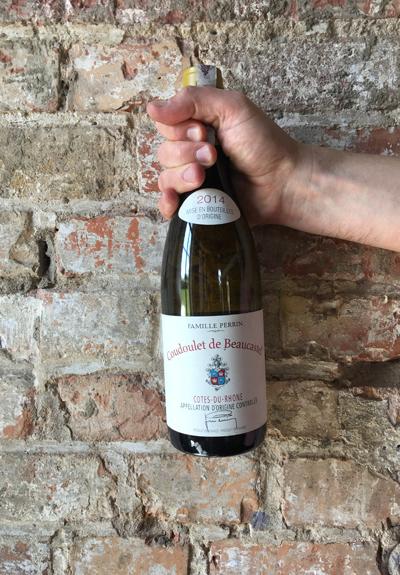 Wino Château de Beaucastel Coudoulet de Beaucastel Blanc 2014