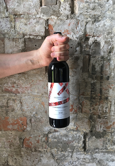 Wino Winnica Srebrna Góra Cabernet Cortis Réserve 2015