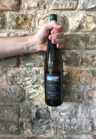 Wino Winnice Wzgórz Trzebnickich Pinot Gris 2014