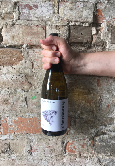 Wino Winnica Wieliczka Chardonnay 2018
