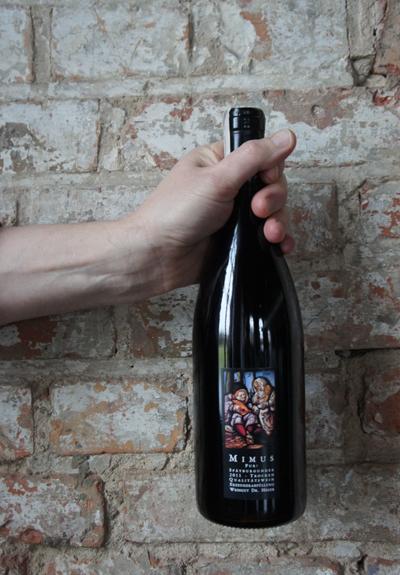 Wino Weingut Dr Heger Mimus Pur! Spätburgunder 2011