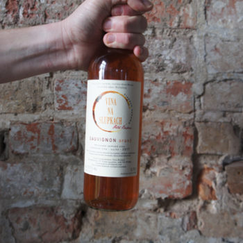 Wino Petra Brédova Vina na Slupkach Sauvignon Blanc Oranž 2017