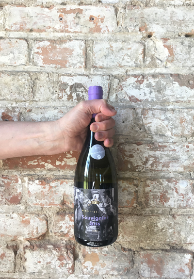 Wino Winnica Silesian Souvignier Gris 2018