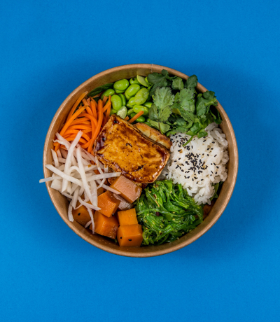 bowl + tofu