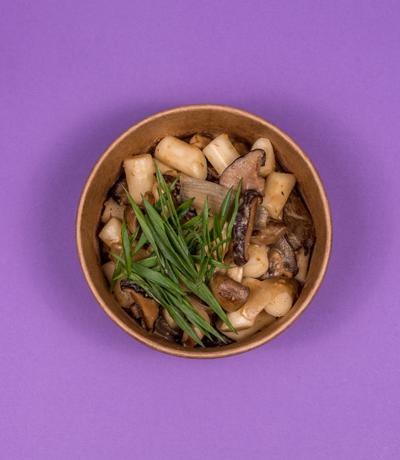 tteokbokki + grzyby
