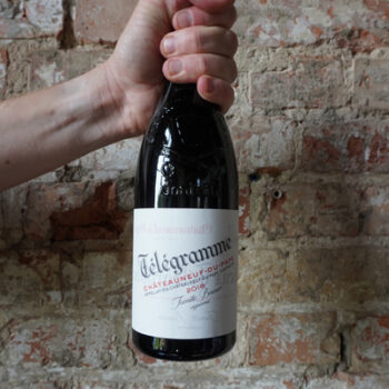 Wino Domaine Vieux Telegraphe Telegramme Rouge 2016